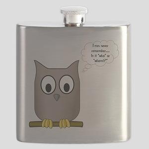 OwlWhoWhom Flask