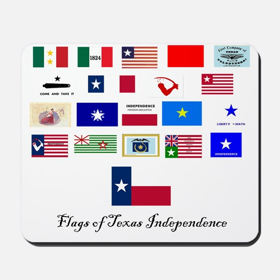 flags tx ind Mousepad