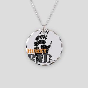 honey-badger-1 Necklace Circle Charm
