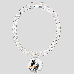 honey-badger-2 Charm Bracelet, One Charm