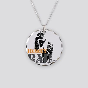 honey-badger-2 Necklace Circle Charm
