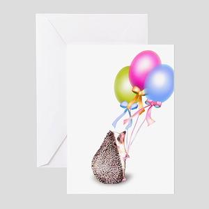 Celebration Balloons Greeting Cards