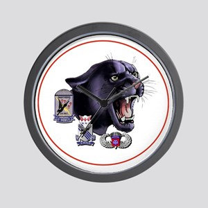 Panther v2_2nd-505th-White Wall Clock
