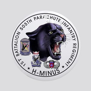 Panther v2_1st-505th Round Ornament