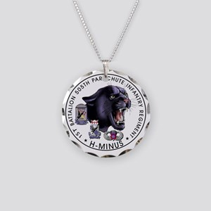 Panther v2_1st-505th Necklace Circle Charm