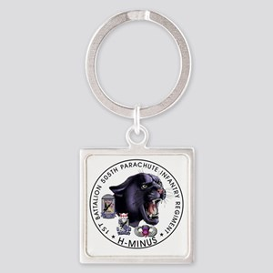 Panther v2_1st-505th Square Keychain