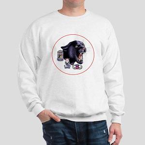 Panther v2_3rd-505th-White Sweatshirt