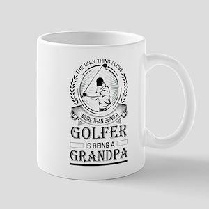 Golfer Grandpa Mugs