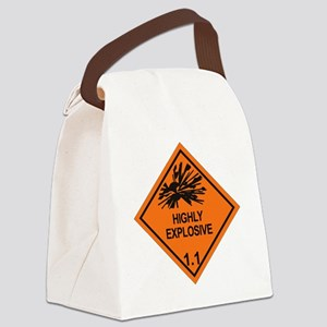 Explosive-1.1 Canvas Lunch Bag