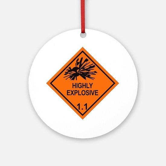 Explosive-1.1 Round Ornament
