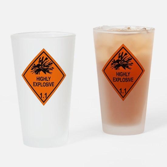 Explosive-1.1 Drinking Glass