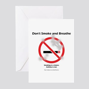 No Breathing Greeting Cards (Pk of 10)
