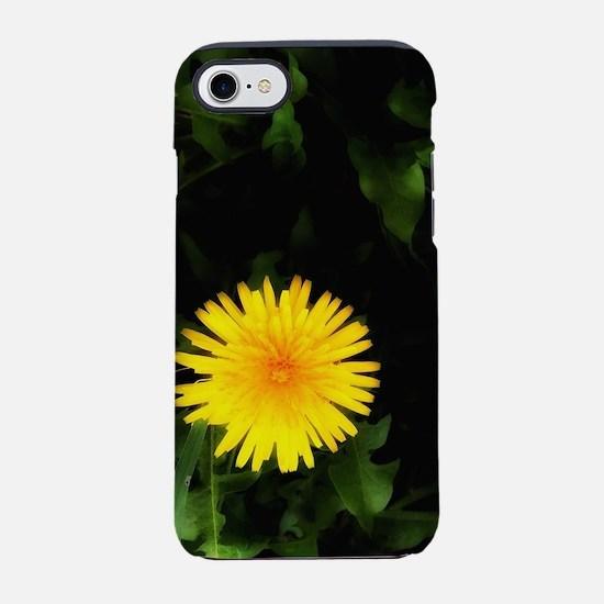 Single Yellow One iPhone 7 Tough Case