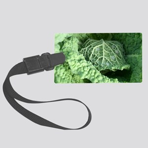 cabbage Large Luggage Tag
