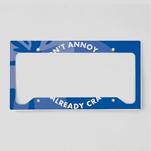 DontAnnoyMe-laptopskin License Plate Holder