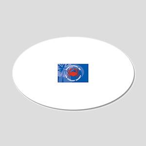 DontAnnoyMe-laptopskin 20x12 Oval Wall Decal