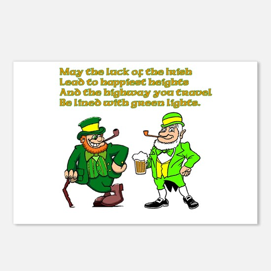 Luck of the Irish Postcards (Package of 8)