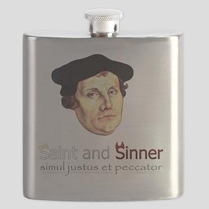Saint and Sinner Flask
