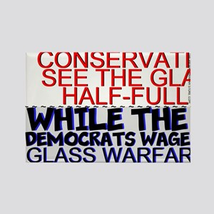 Conservatives See The Glass Design Magnets
