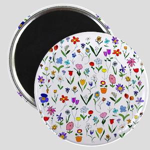 htlc flowers field Magnet