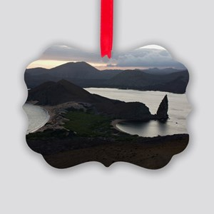 Pinnacle Rock Galapagos Picture Ornament
