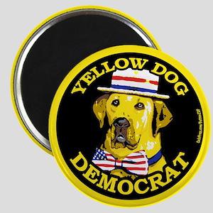 New Yellow Dog Democrat Magnet