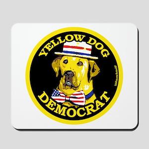 New Yellow Dog Democrat Mousepad