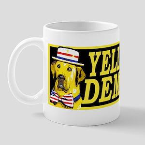 New Yellow Dog Democrat Mug