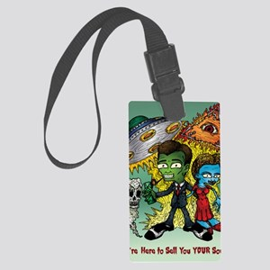 Sell You Your Soul Large Luggage Tag