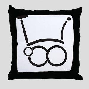 unfold_coaster4 Throw Pillow