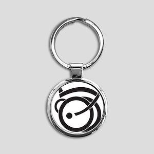 unfold_coaster1 Round Keychain