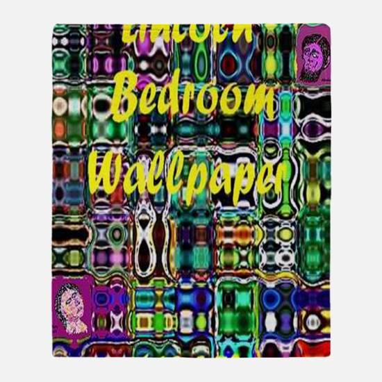 Lincoln Beroom Wallpaper 4600 x 7000 Throw Blanket
