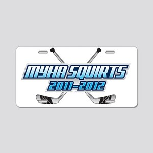 MYHA_Squirts.2 Aluminum License Plate