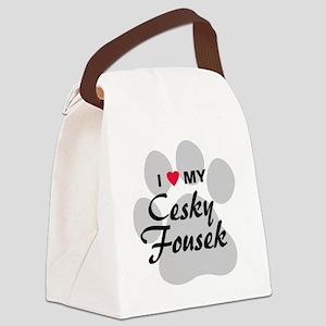 cesky-fousek Canvas Lunch Bag