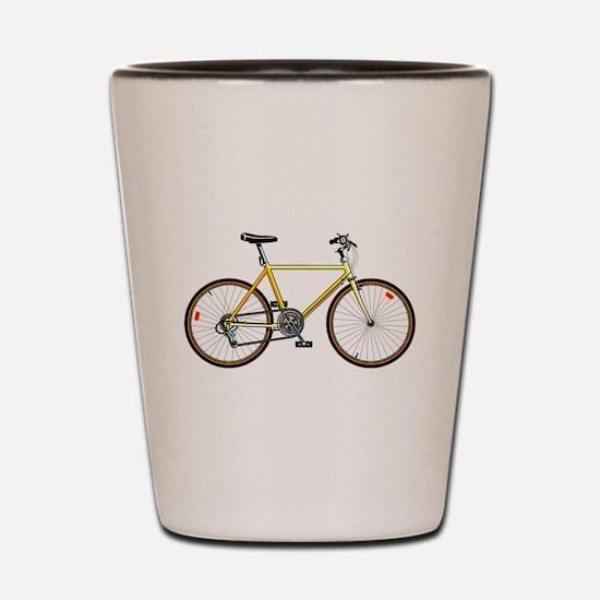 Mountain Bike Shot Glass