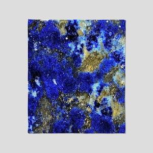 Lazurite-Blue-iPad Throw Blanket