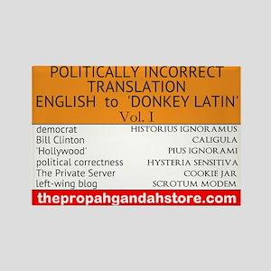 'donkey Latin' Vol. 1 Magnets