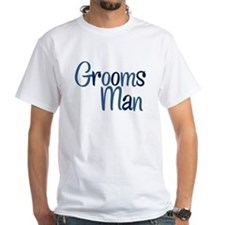 Cool Country Groomsman White T-Shirt