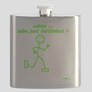 WhoaWhoJustFartleked_Green Flask