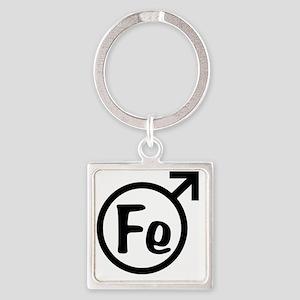 Iron_Man Square Keychain