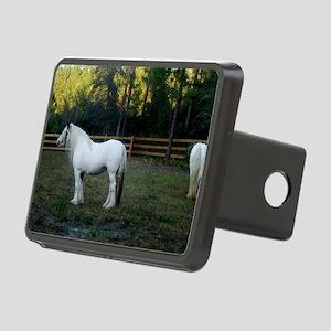 Gypsy Vanner Horses Petal  Rectangular Hitch Cover