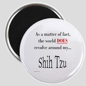 Shih Tzu World Magnet