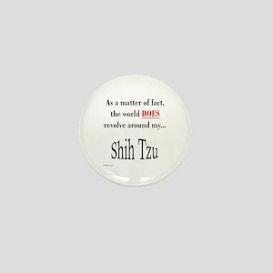 Shih Tzu World Mini Button
