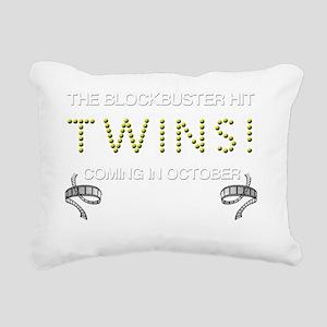TWINS october Rectangular Canvas Pillow