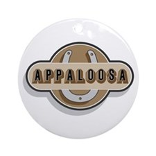Appaloosa Horse Ornament (Round)