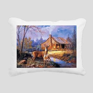 Oh-Deer Rectangular Canvas Pillow