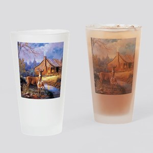 Oh-Deer Drinking Glass