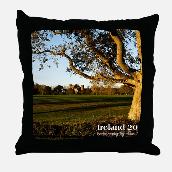 cover_with_text Throw Pillow