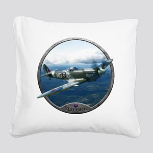 Spitfire Square Canvas Pillow