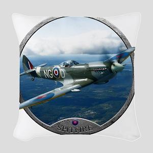 Spitfire Woven Throw Pillow